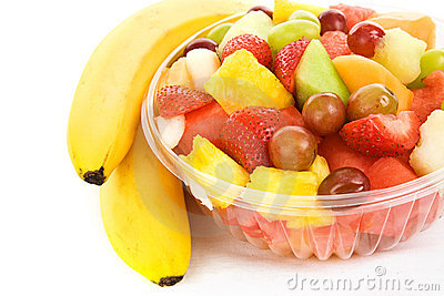 Fruit Salad With Bananas Royalty Free Stock Images Image