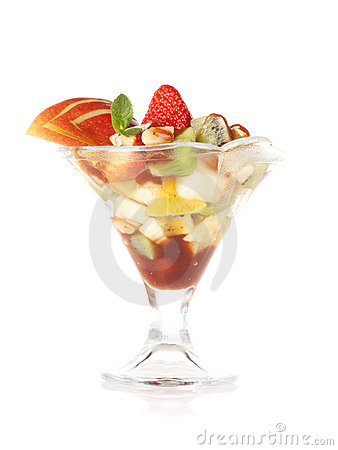 Fruit salad dessert