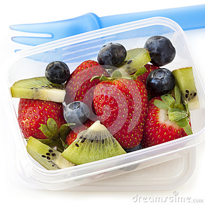 Fruit Salad Lunch Box