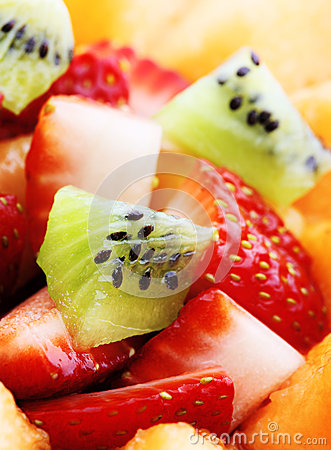 Free Fruit Salad Macro Royalty Free Stock Images - 24767829