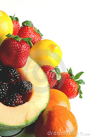 Free Fruit Salad With Space Royalty Free Stock Photography - 491457