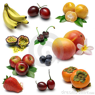 Free Fruit Sampler 1 Royalty Free Stock Photos - 6432178