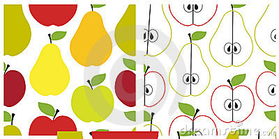 Fruit seamless pattern