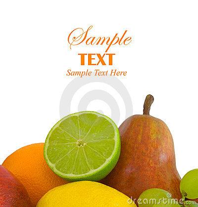 Fruit Selection with Copy Space