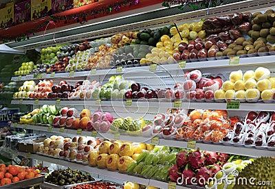 Fruit shop Editorial Image