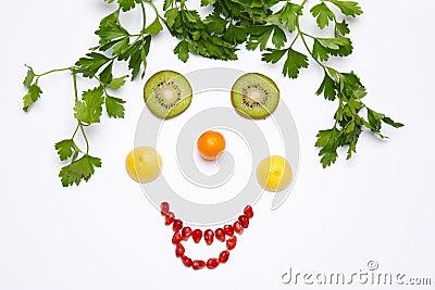Fruit a smile
