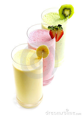 Free Fruit Smoothies Royalty Free Stock Photo - 5358575