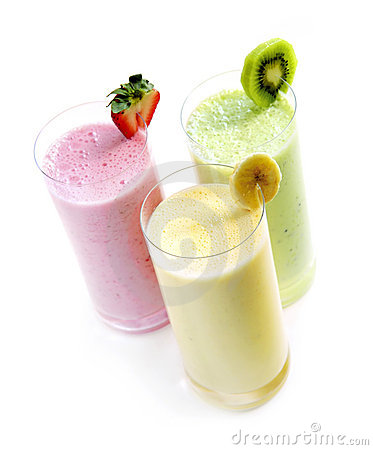 Free Fruit Smoothies Royalty Free Stock Photography - 5362577