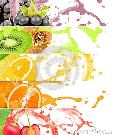 Free Fruit Splash Royalty Free Stock Photos - 58839518