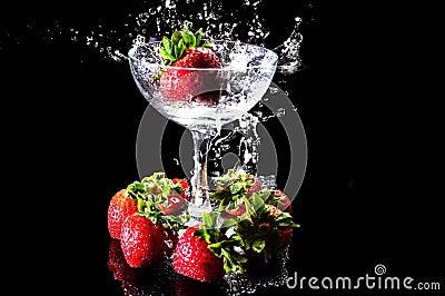 Fruit and splash