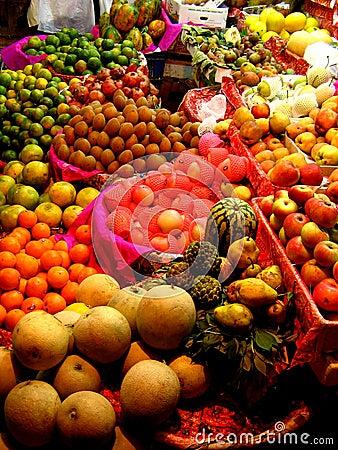 Free Fruit Stall Stock Image - 1500631