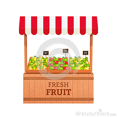 Free Fruit Stand Royalty Free Stock Photo - 50248975