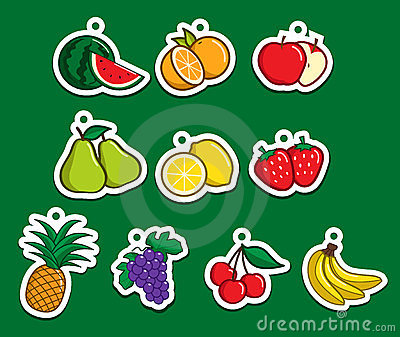 Fruit Sticker