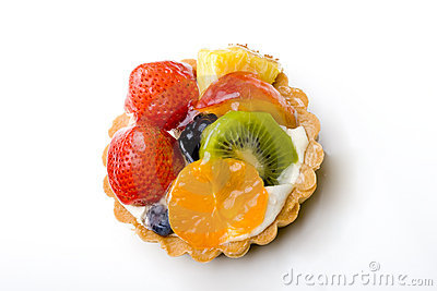 Fruit tart pastry delicious dessert