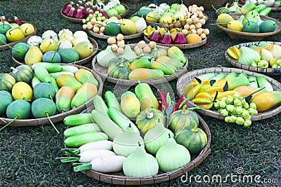 Fruit Thai vegetables