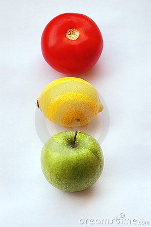 Fruit traffic light