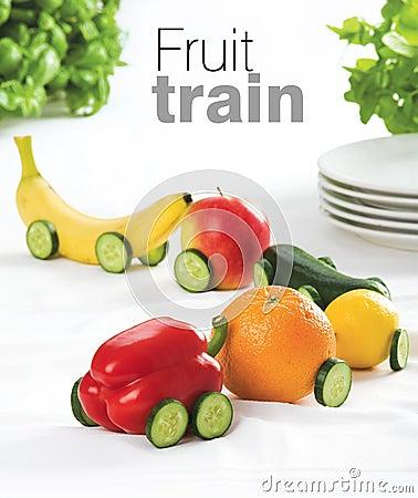 Free Fruit Train Stock Image - 17504041