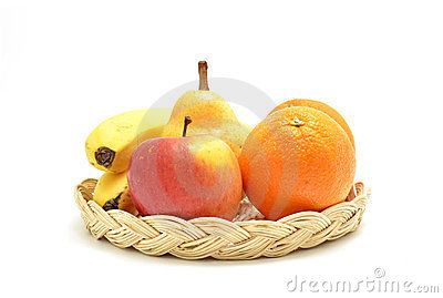 Fruit on tray