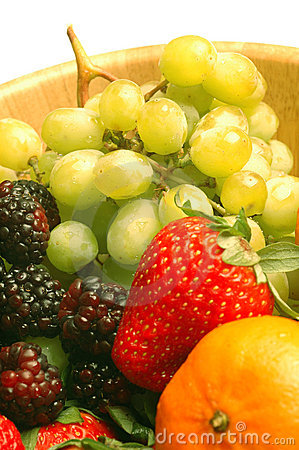 Fruit variety  grapes strawberry raspberry