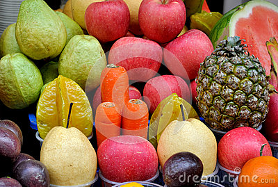 Fruit and vegetable for juices