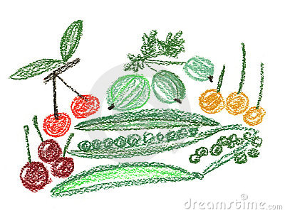 Fruit And Vegetables Royalty Free Stock Photos - Image: 5892668