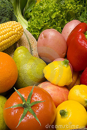 Free Fruit Vegetables Food Stock Photo - 6190710