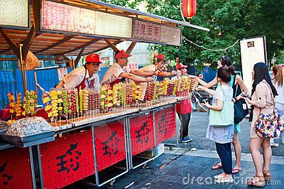 Fruit vendors Editorial Photography