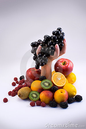 Free Fruit With Hand Stock Photos - 6623603