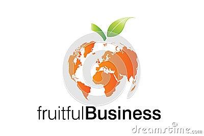 Fruitful Business Logo
