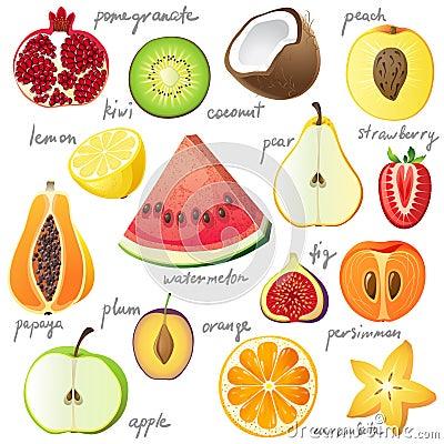 Free Fruits Stock Image - 35230441