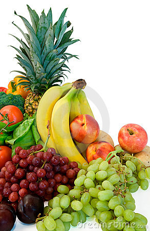Free Fruits And Some Veggies Royalty Free Stock Image - 3071826