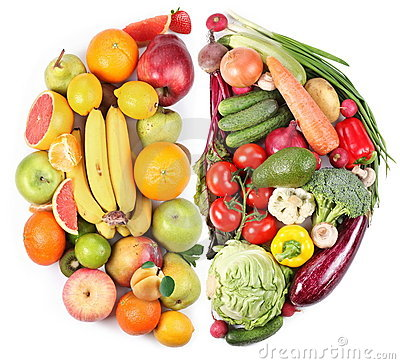 Free Fruits And Vegetables Stock Images - 14205344