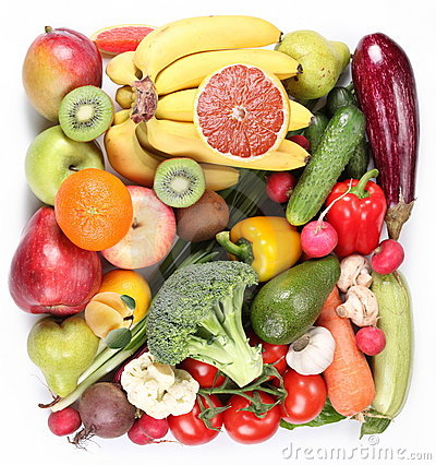 Free Fruits And Vegetables Royalty Free Stock Images - 14500799