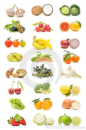 Free Fruits And Vegetables Stock Image - 15423421