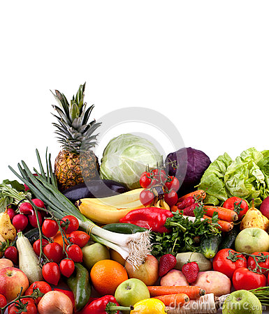 Free Fruits And Vegetables Royalty Free Stock Photography - 31049557