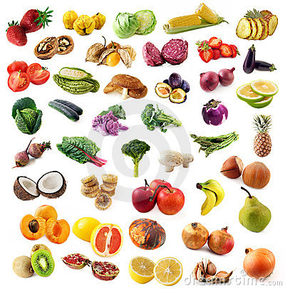 Free Fruits And Vegetables Royalty Free Stock Photography - 7779947