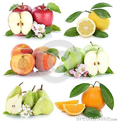 Free Fruits Apple Orange Lemon Peach Apples Oranges Fresh Fruit Colle Stock Photo - 74250310