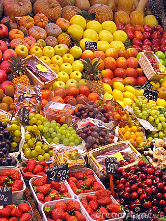 Free Fruits At The Market Royalty Free Stock Photography - 2525927