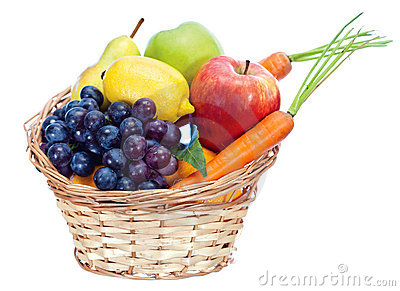 Fruits in basket