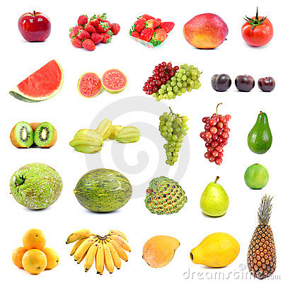 Fruits Big collection