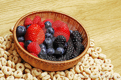Fruits and cereals