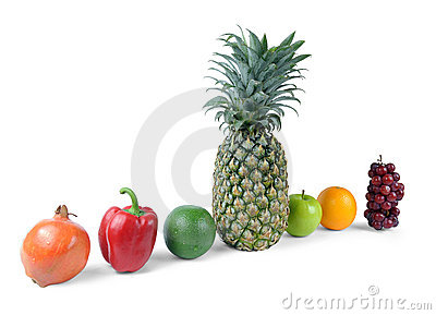 Fruits clipping path