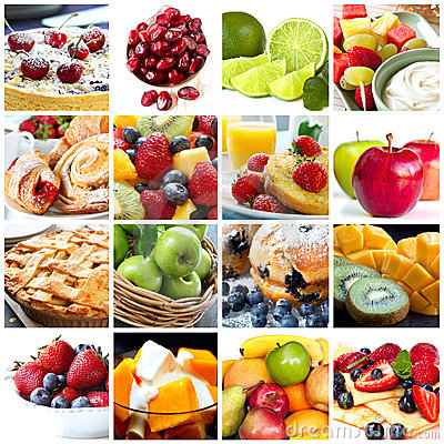 Free Fruits Collage Stock Photography - 21905242