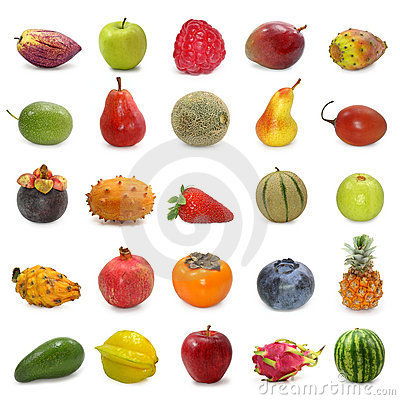 Free Fruits Collection Royalty Free Stock Images - 5236559