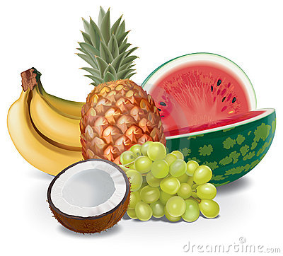 Free Fruits Composition Royalty Free Stock Photos - 10435738