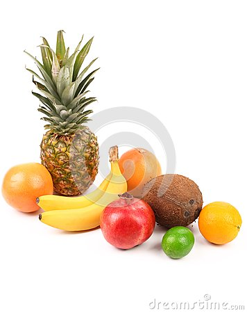 Fruits composition.