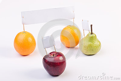 Fruits demonstrate and protest