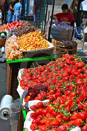 Fruits and market