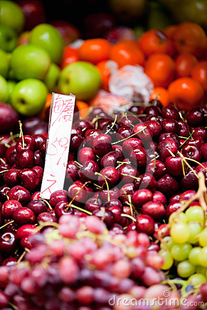 Fruits at market