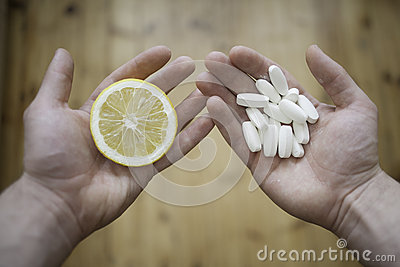 Lemon or pills?
